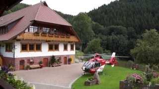 DRF Luftrettung Landung und Start | 01.09.2013 Fussbauerhof Wolfach