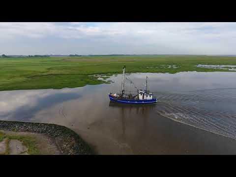 Nordsee Impression Vom Hafen In Dorum Neufeld Wurster Küste