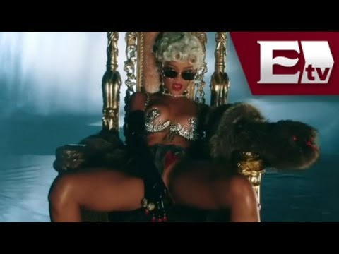 Rihanna estrena video sensual  / Función con Adrián Ruíz