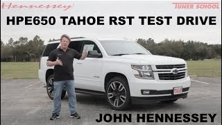 HPE650 Tahoe RST Test Drive with John Hennessey