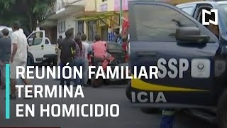Reunión familiar termina en homicidio - Las Noticias