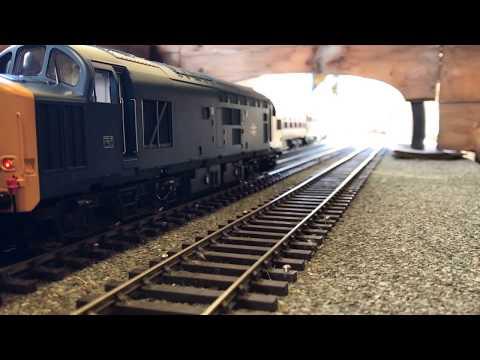 Great Central Railway Nottingham O Gauge Diesel running