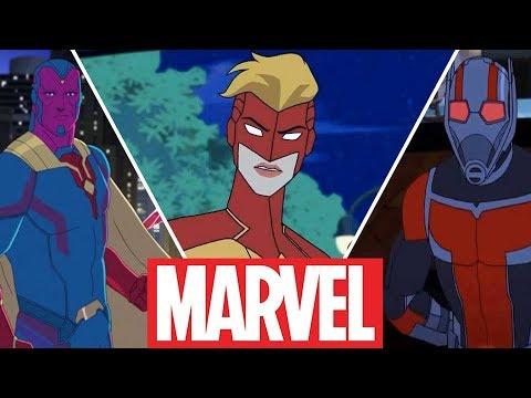 New Avengers in Avengers Assemble - All Characters (2019)