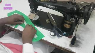 Collar Suit Stitching in Professional Style