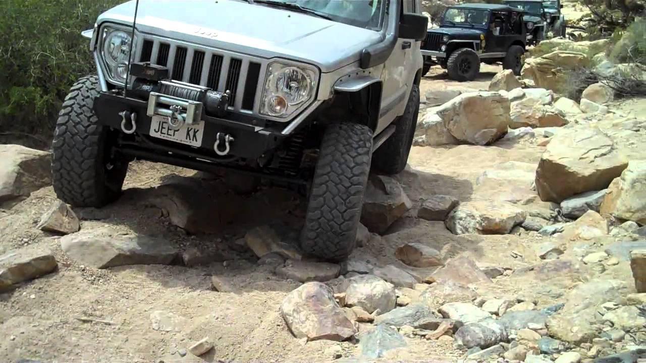 Jeep 2010 Liberty on Matino wash Southern California - YouTube