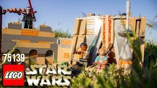 Lego 75139. Star Wars. Battle on Takodana. Лего звездные войны. Битва при Такадане.