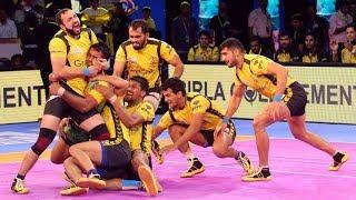 Telugu Titans Vs Patna Pirates Match Highlights    Patna Beat Telugu Titans   Good Comeback - Titans