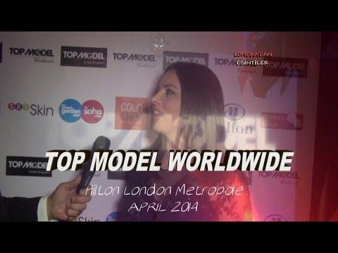SERAP POLLARD'S SUSTAINABLE FASHION AT TOP MODEL WORLWIDE HILTON METROPOLE LONDON APR 2014 HD