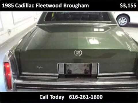 1985 cadillac fleetwood brougham used cars grand rapids mi for Motor max grand rapids