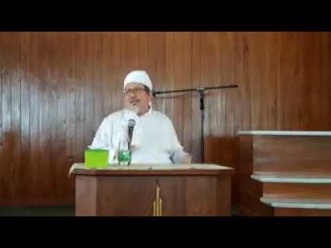 Merdunya suara Tengku Zulkarnain  menyanyikan lagu Sakaratul maut ketika ceramah di masjid Az Zikra