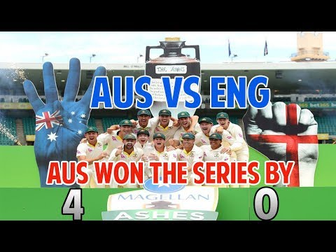 AUS VS ENG ll 5th Test Highlights : AUS won the series by 4 -0