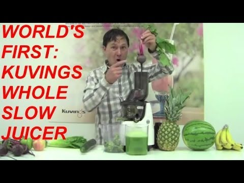 Kuvings Whole Slow Juicer Nz : Sneak Peak: Kuvings WHOLE Slow Juicer with 3