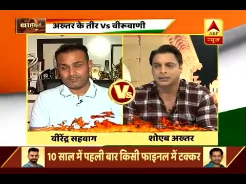 Ind vs Pak final: Virender Sehwag's befitting reply to Sohaib Akhtar