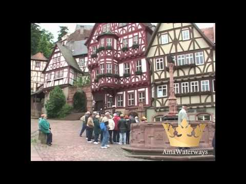 AmaWaterways Excursions to Towns of Miltenberg & Wertheim, Germany on Main River