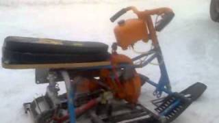 small snowmobile (миниснегоход)
