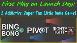 Bing Bong XL, Righty Tighty XL, and Pivot XL - Three Amazing New Minimalist Games!