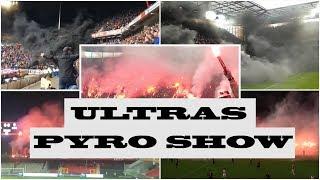 AKSI PYRO SHOW ULTRAS EROPA 2018