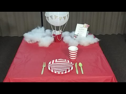 Clover College 2017: Terrific Table Setting