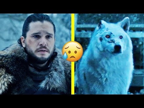 Game Of Thrones: Why Jon Didn't Say Bye To Ghost