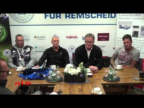 Thorsten Legat - neuer Trainer des FC Remscheid. Jetzt wird aufgeräumt!