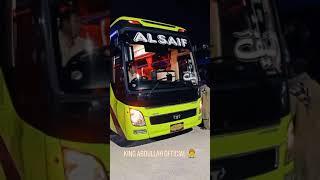 Hyundai Bus Pakistan I Al Saif Karachi to Quetta Bus Service