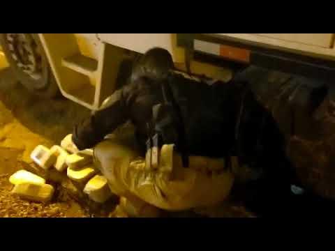 Apreensão 410kg pasta base Rondonópolis/MT