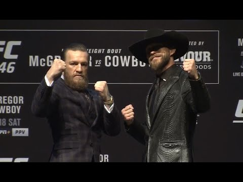 Your Morning Show - McGregor vs Cowboy Pre-Fight Press conference