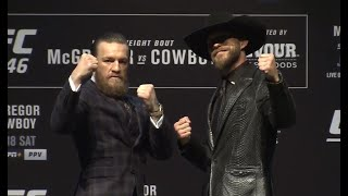 UFC 246: McGregor vs Cowboy Press Conference