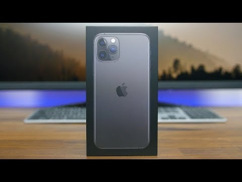 Apple IPhone 11 Pro Unboxing And First Look