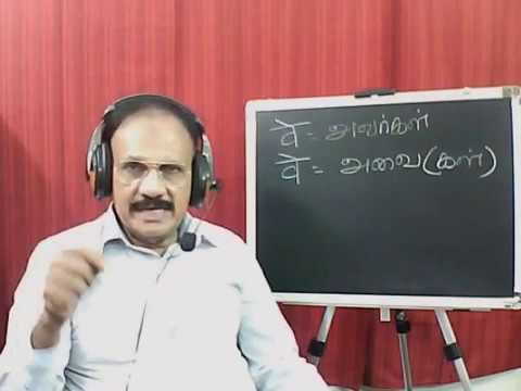 Learn spoken Tamil Thourgh Hindi.