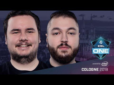 CS:GO - FaZe vs. BIG [Dust2] Map 1 - Semifinals - ESL One Cologne 2018