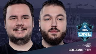 CS:GO - FaZe vs. BIG [Dust2] Map 1 - Semifinals - ESL One Cologne 2018