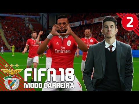 'INÍCIO DA PRÉ TEMPORADA' | FIFA 18 Modo Carreira (SL Benfica) #02