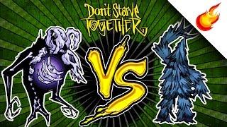 💀 REANIMATED SKELETON vs 🌲 TREEGUARD - Don't Starve Together