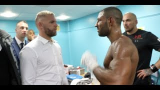 'THAT MAY HAVE DONE YOU A FAVOUR, KHAN MAY THINK - I'LL FIGHT YOU NOW' -BILLY JOE SAUNDERS TO BROOK