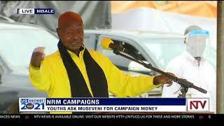 Museveni in Bugisu sub-region
