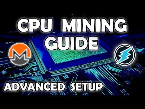 Advanced CPU Mining Guide - Intel Or AMD CPU Mining With Awesome Miner & Mining Pool Hub