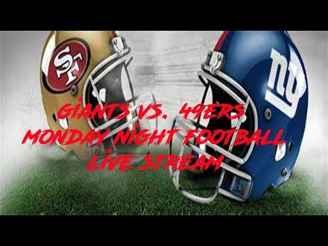 New York Giants: NY Giants vs. San Francisco 49ers Monday Night Football Live Stream