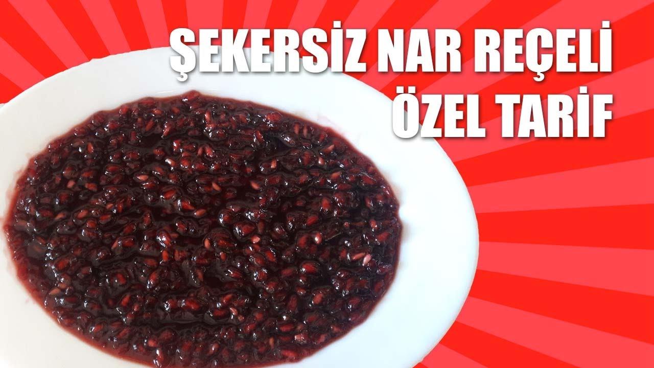 Nar Reçeli Tarifi