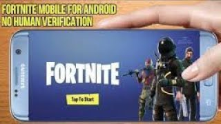 How To Download Fortnite In Android Free APK [ NO HUMAN VERIFICATION ]