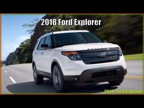 Ford Explorer 2018 - New 2018 Ford Explorer Platinum XLT Sport Reviews
