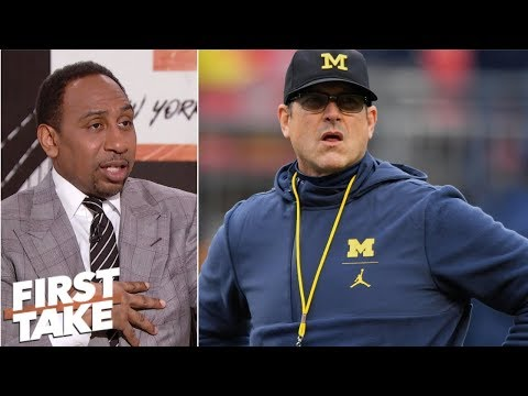 Michigan and Jim Harbaugh are overrated - Stephen A. Smith l First Take