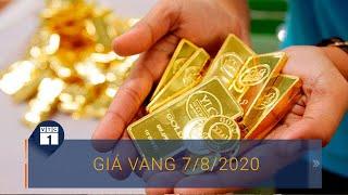 Giá vàng ngày 7/8/2020: Vàng trong nước vượt thế giới 5 triệu đồng/lượng | VTC1