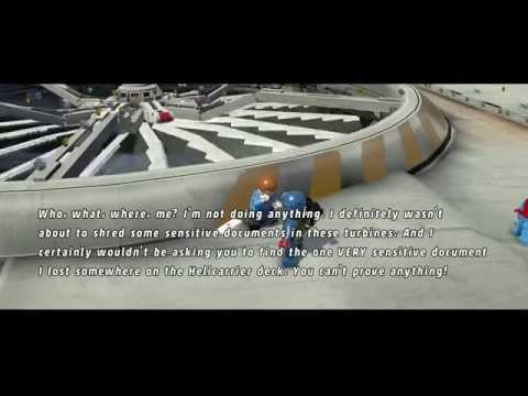 Lego Marvel Super Heroes Lost Document on Helicarrier
