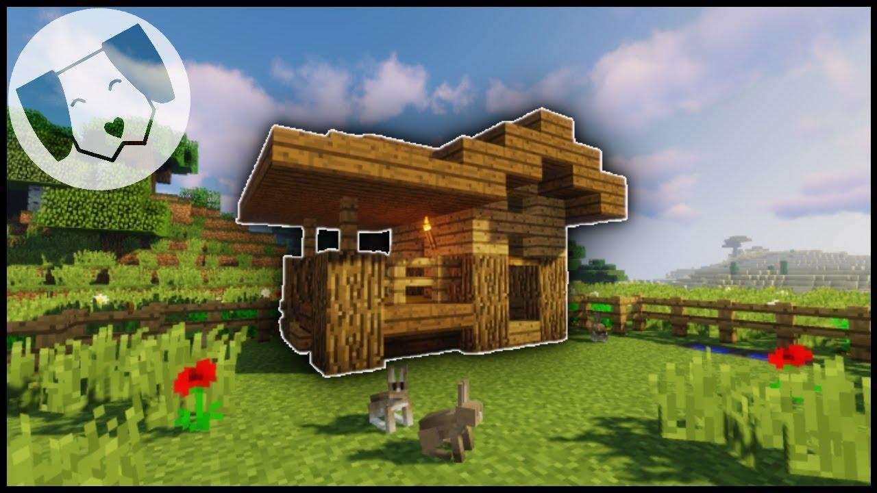Minecraft Rabbit Hutch Tutorial Youtube