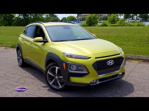2018 Hyundai Kona First Drive Cars.com