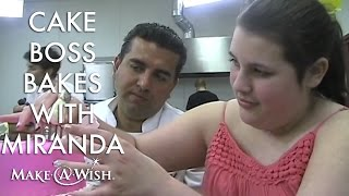 "Wish Granted: The ""Cake Boss"" Bakes With Miranda"