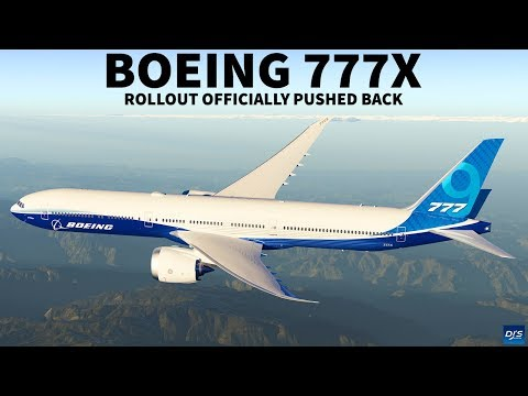 Boeing 777X Rollout Postponed