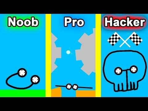 NOOB Vs PRO Vs HACKER - Car Drawing Game