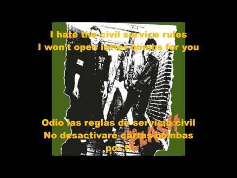 The Clash- Career Opportunities sub (ing-esp)